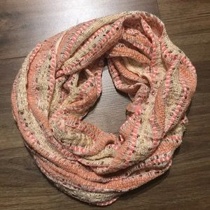 Express Pink Infinity Scarf